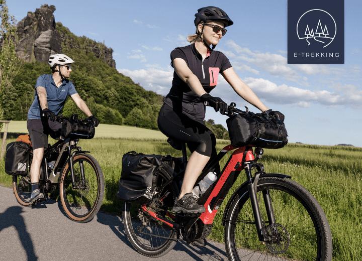 Our Trekking E-Bikes