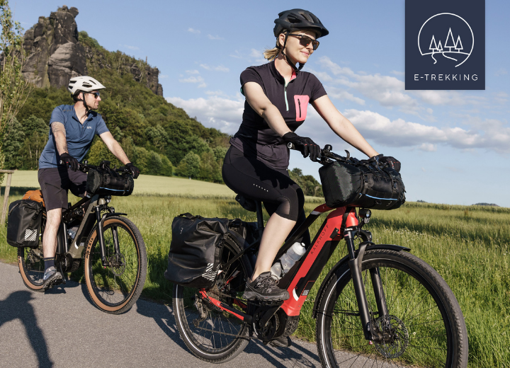 Onze Trekking E-Bikes